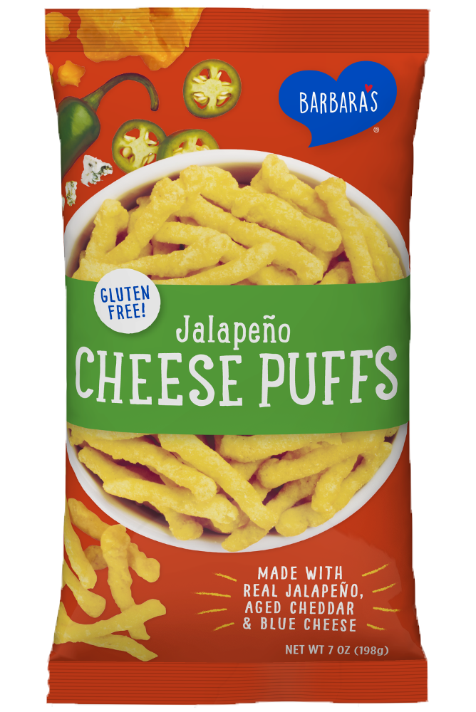 Cheese Puffs Jalapeno