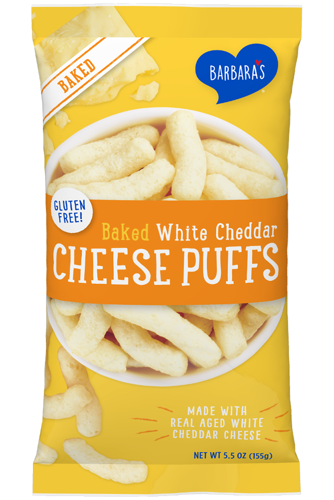Cheese Puffs Baked White Cheddar