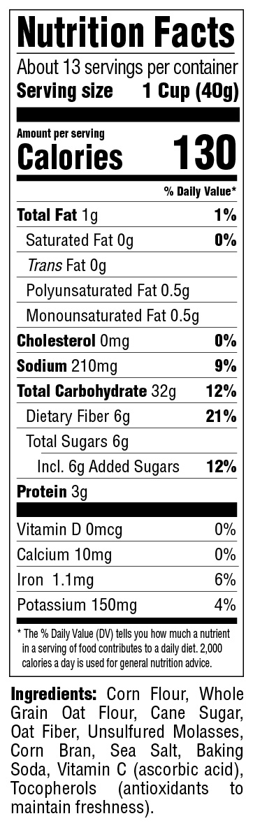 Puffins Original Nutritional Information