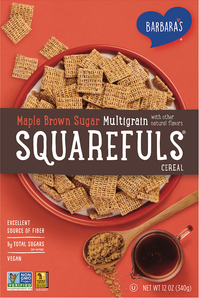 Classic Squarefuls Maple Brown Sugar Multigrain