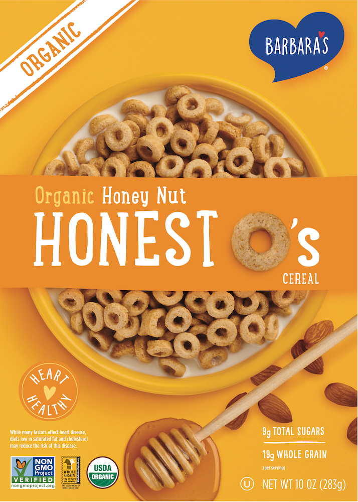 Organic Honest O's Honey Nut