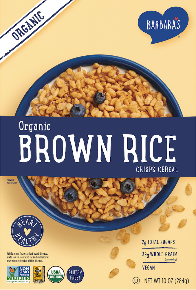Organic Brown Rice Crisps