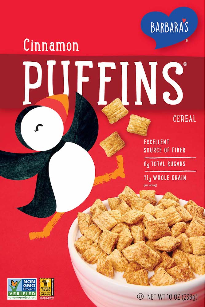 Cinnamon Puffins Cereal
